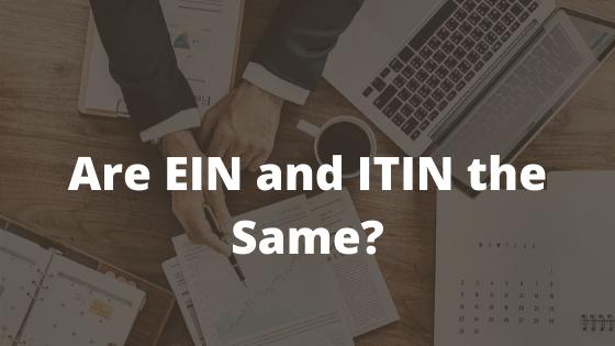 EIN and TIN