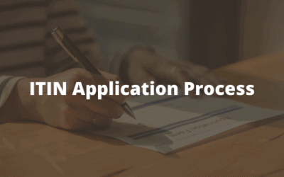 ITIN Application Process