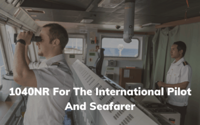 1040NR For The International Pilot And Seafarer